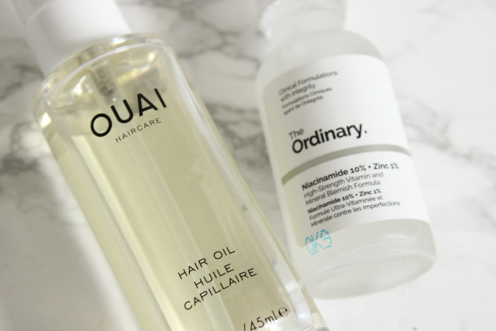 October Favourites - Ouai Hair Oil, The Ordinary Niacinamide & Zinc