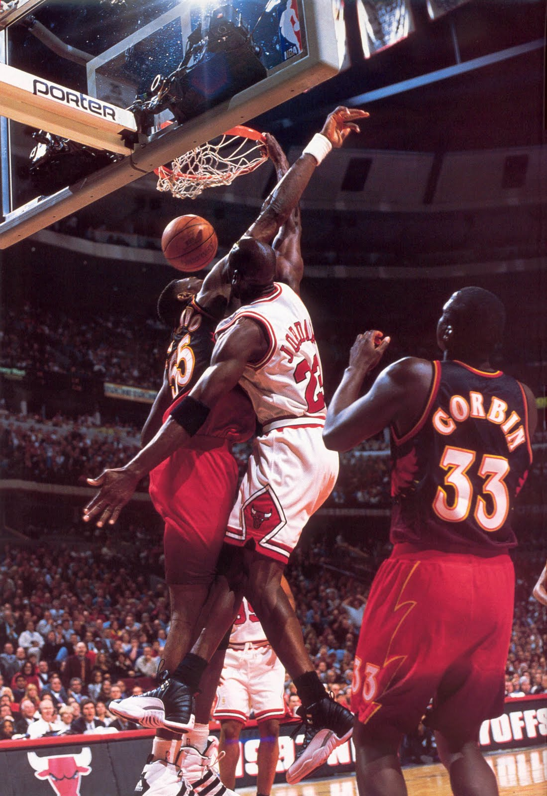 The Nba Dribbled Out Dikembe Mutombo Was Not Wagging His Finger In