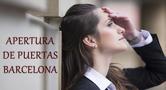 Servicios Especializados De Apertura De Puertas Barcelona