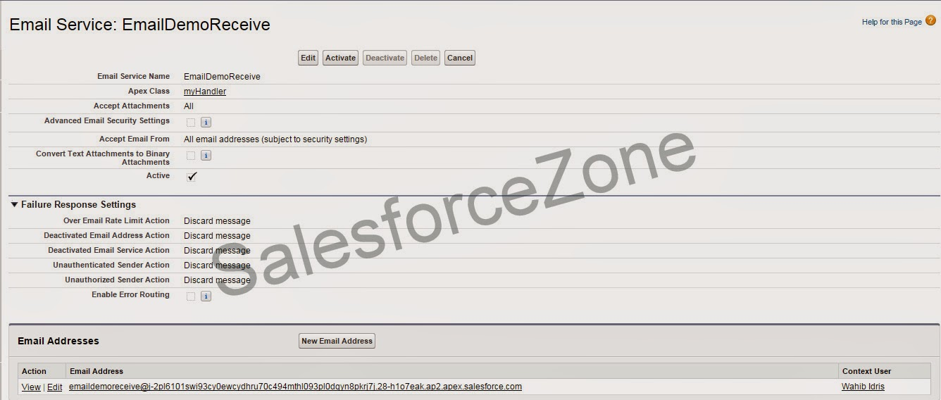 Salesforce Zone: Email Service to Parse CSV