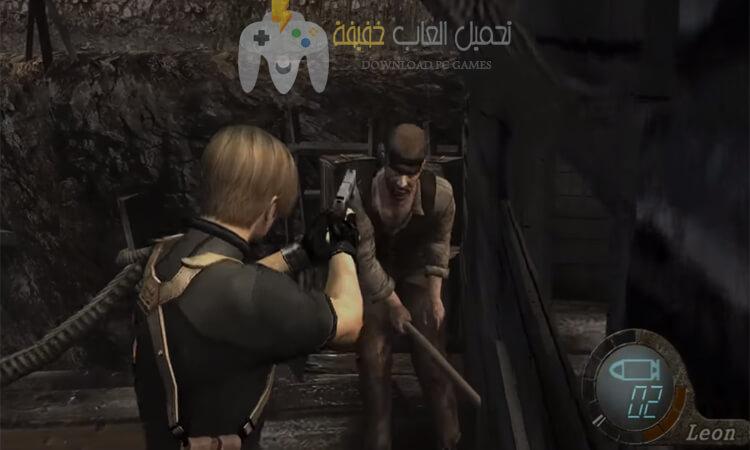 تحميل لعبة رزدنت ايفل 4 Resident Evil للكمبيوتر مضغوطة