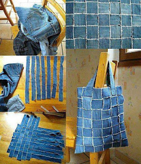 Ideas para reciclar jeans viejos