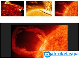 Pembahasan 4 Macam Gangguan Pada Matahari
