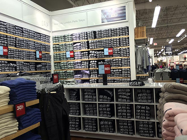 Como são as lojas da Gap em Miami