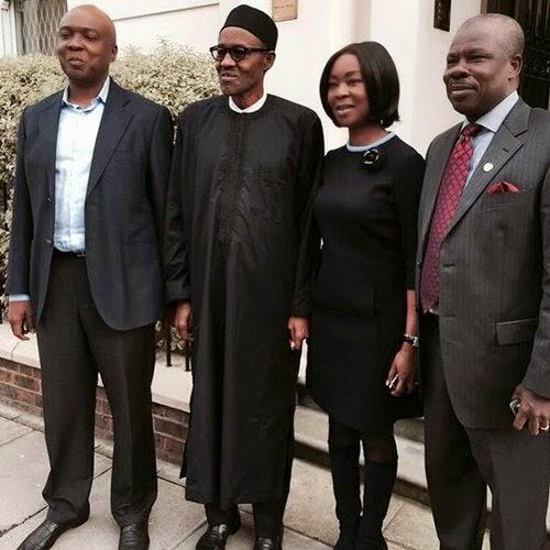 Mrs Buhari, Mrs Osinbajo, Zahra Buhari Show Support For