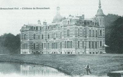 Kasteel Brasschaat in 1905