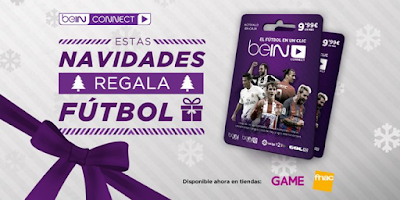 Regala fútbol con BeinConnect