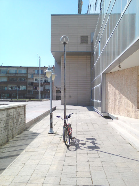 Lonely, Bike, Parked Up, Yambol Business Centre,
