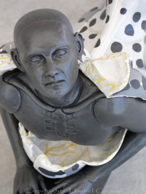 sculpture mue humaine Giraud