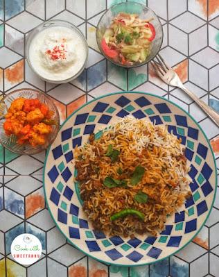 Masoor Biryani Recipe - Akkha Masoor ki Biryani