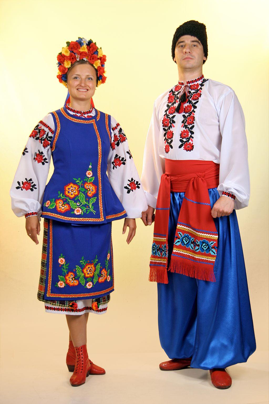 Український фольклор  Український національний костюм a4d327123de33