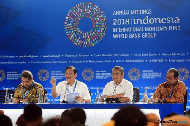 Ternyata Segini, Biaya Pertemuan Tahunan IMF-Bank Dunia 2018 di Bali