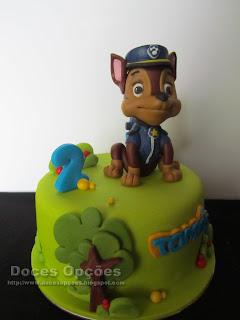 chase patrulha canina bolo parabéns