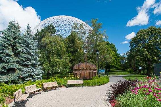 Biosphere de Montreal. Un paseo por el parque Jean Drapeau