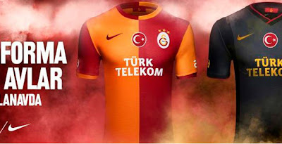 458d0bf94 Galatasaray 13-14 (2013-14) Home and Away Kits Released