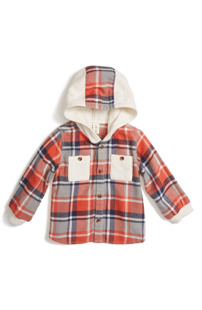 32e1602ef Tucker + Tate Hooded Flannel Shirt. Again with the plaid. This is so  stinking adorable. Unfortunately, it only goes up to size 24 months.