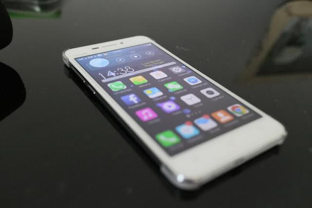 VIVO X3S handphone paling tipis