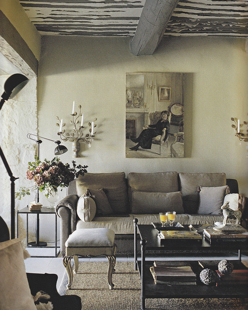 French Country Style: Living Rooms