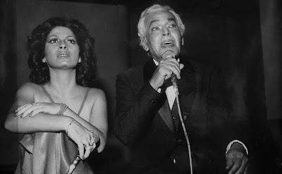 Clara Nunes e Paulo Gracindo - 1974