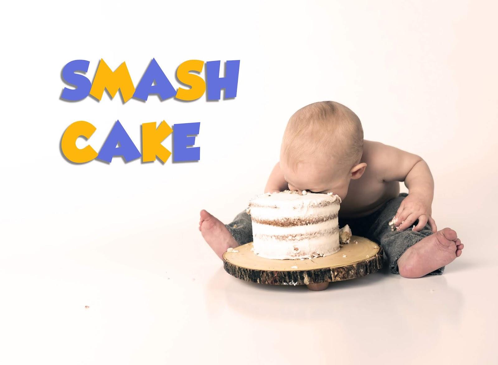 Smash Cake - Qué es, cómo se hace y algunas ideas.