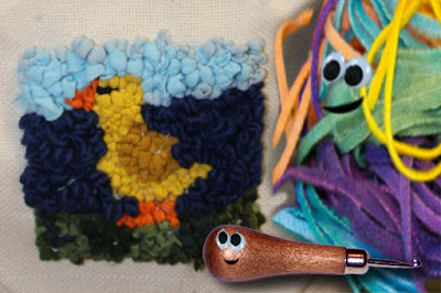 Rug Hooking - Kids Tutorial