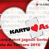 Tarif Dan Cara Paket jagoan Serbu Double Kuota As Terbaru 2016