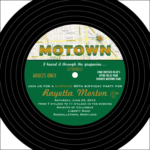 Motown Madness On Pinterest Motown Party Vinyl Records