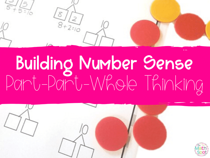 This blog post features number sense activities for building part whole thinking in elementary math students.