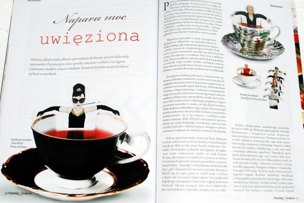 Historia herbaty w torebkach