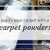 Refreshing Carpet Powder