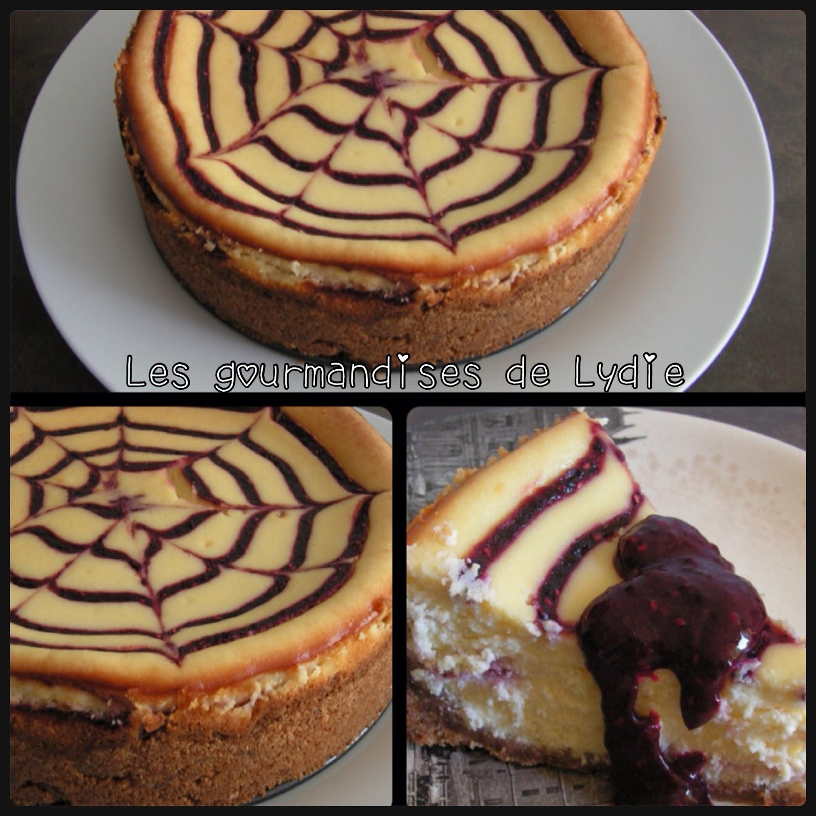 les gourmandises de lydie cheesecake chocolat blanc aux. Black Bedroom Furniture Sets. Home Design Ideas
