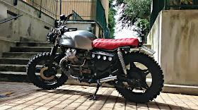 lsr bikes honda cx 500 l arrogante by espresso motorcycle. Black Bedroom Furniture Sets. Home Design Ideas