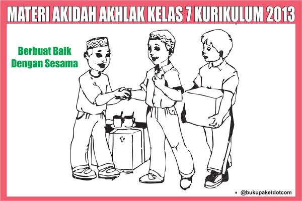 Materi Akidah Akhlak Kelas 7 Semester 1/2 Kurikulum 2013