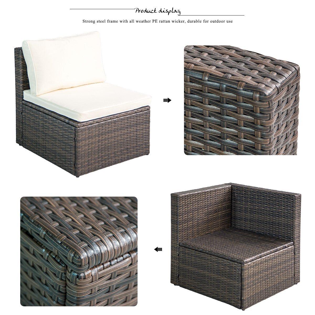 Luxury Furniture Review: Leisure Zone Rattan Patio ...