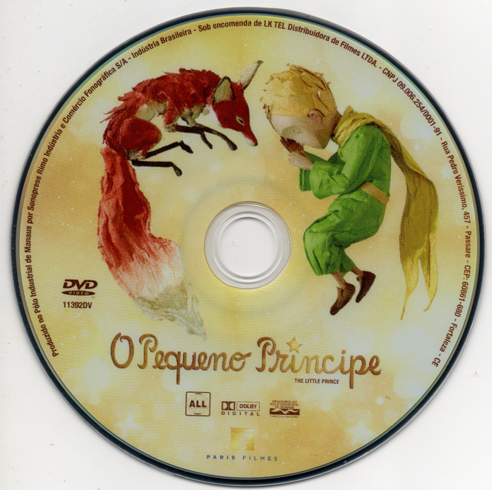 Filme O Pequeno Principe 2015 within o pequeno principe (2015) capa dvd - giga in filmes