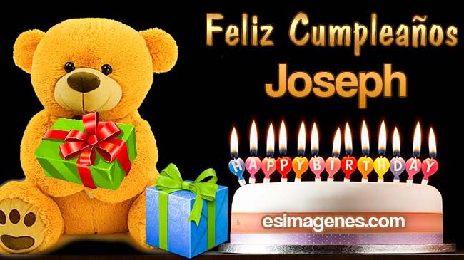 Feliz cumpleaños Joseph