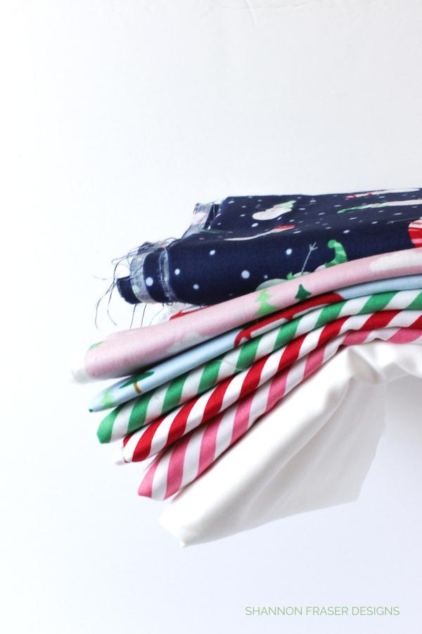Holiday Irish Vortex Quilt Fabrics   Q4 2018 FAL   Shannon Fraser Designs