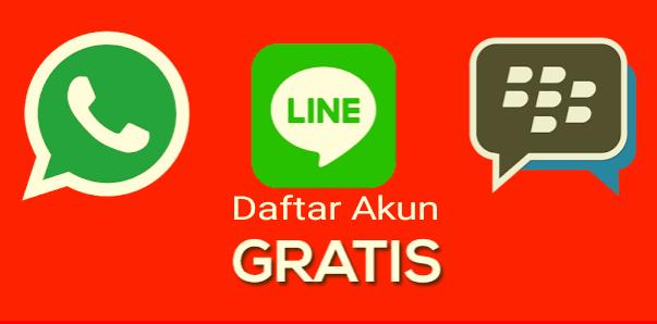 Tutorial Cara Daftar Akun Whatsapp, Line Dan Bbm Di Android [Updated 2019]