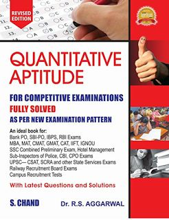 quantitative aptitude by rs agarwal
