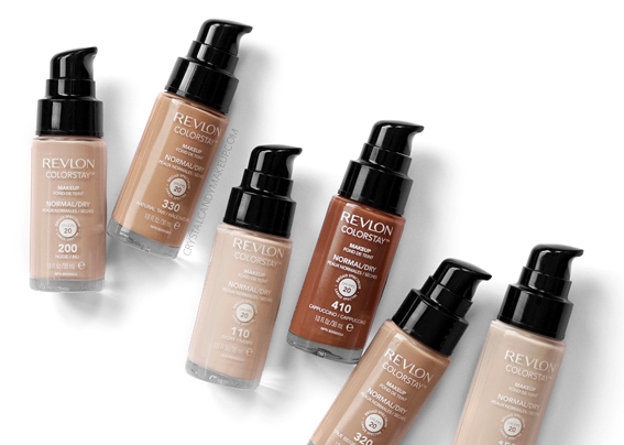 Revlon Colorstay Foundation Normal Dry Skin Review MAC Comparisons