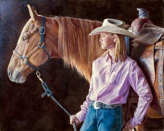 pinturas-vaqueras-detalles-reales cuadros-realistas-con-vaqueras