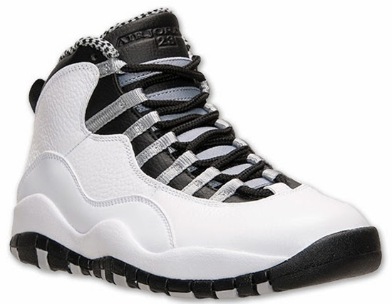 super popular 3a2a4 f428e Air Jordan 10 Retro White Black-Light Steel Grey-Varsity Red Release  Reminder