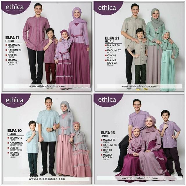 Ethica Busana Muslim Untuk Keluarga Kompak Masa Kini Arifah