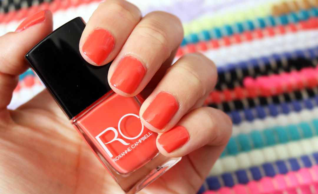Roxanne Campbell Nail Lacquer in Off To Jamaica swatches