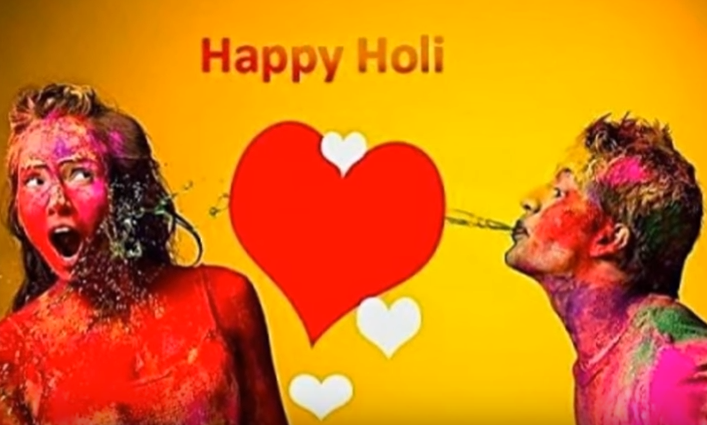Happy Holi Shayari for Girlfriend
