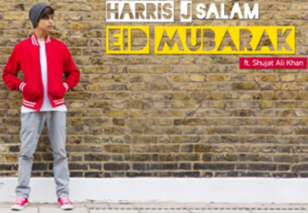 Aswar Sharing Eid Mubarak By Harris J Ft Shujat Ali Khan Lyric