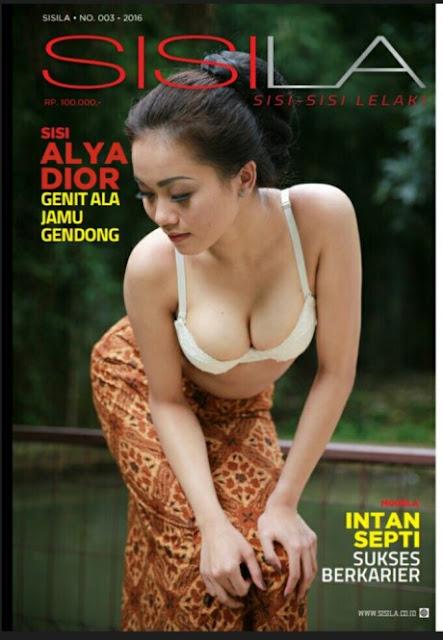 Alya Dior Majalah Sisilia