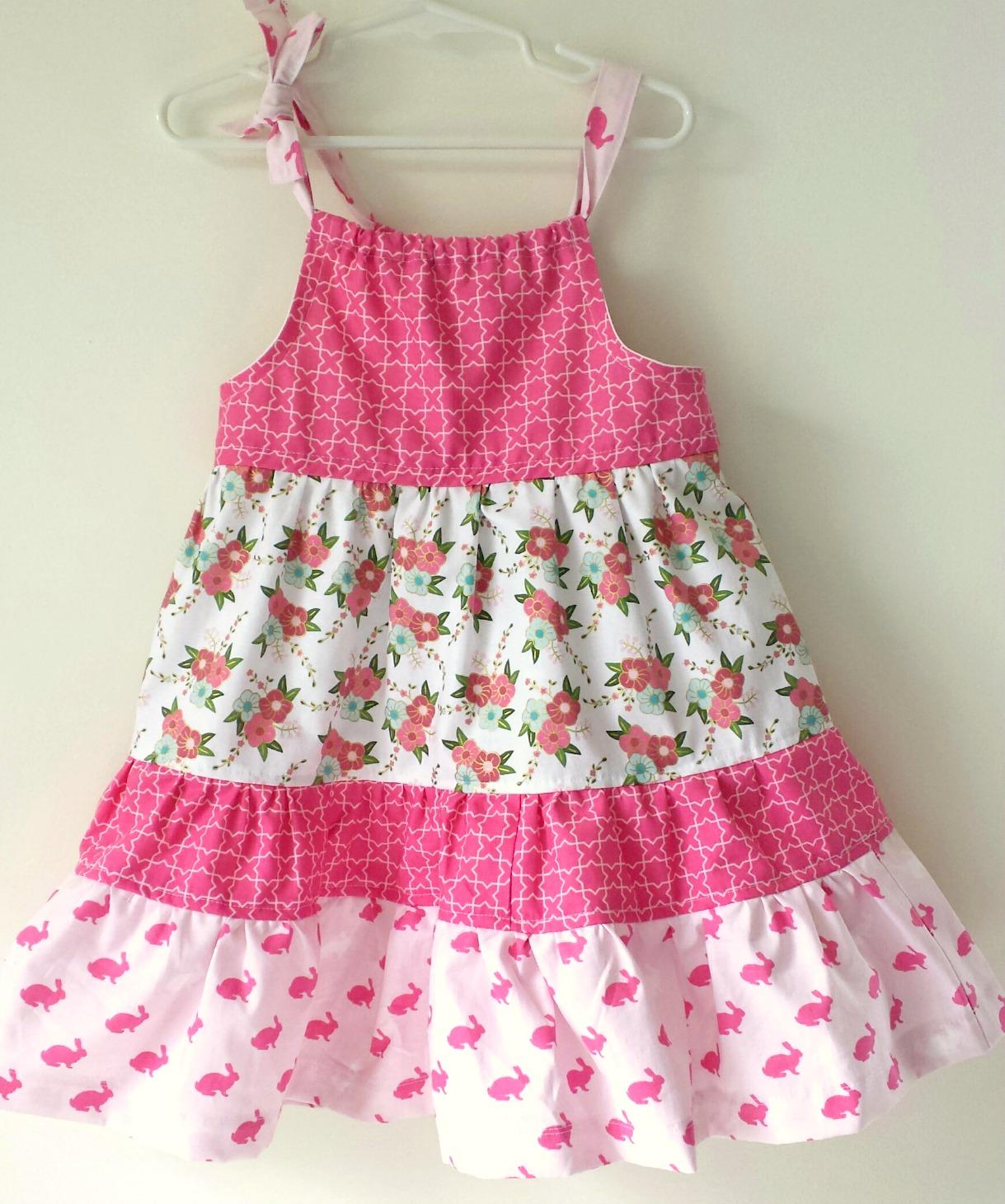 Ameroonie Designs: Wonderland Tiered Pillowcase Dress