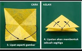 Cara Membuat Origami Kupu Kupu Dari Kertas Lipat Dengan Mudah