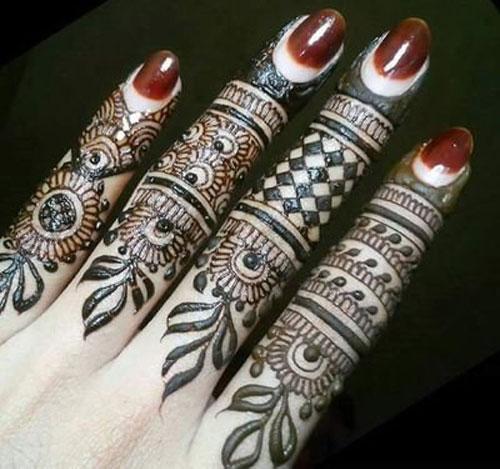 Simple Finger Mehndi Designs Mehndi Design